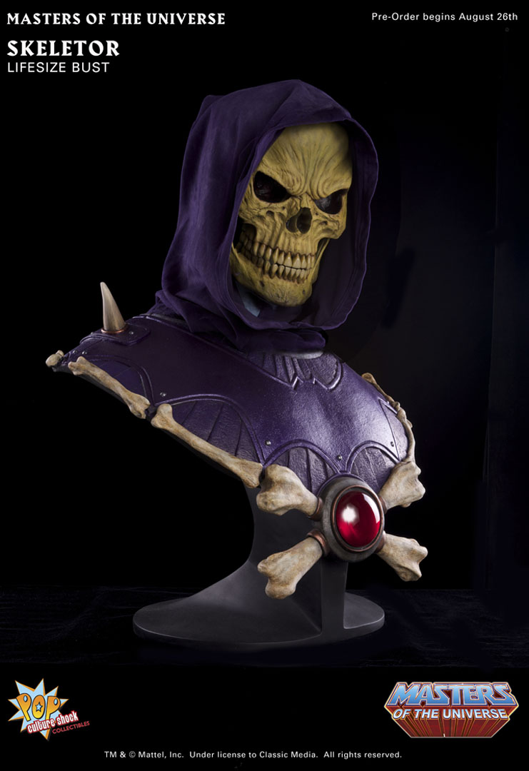 He-Man - Masters of the Universe Skeletor_Bust_D