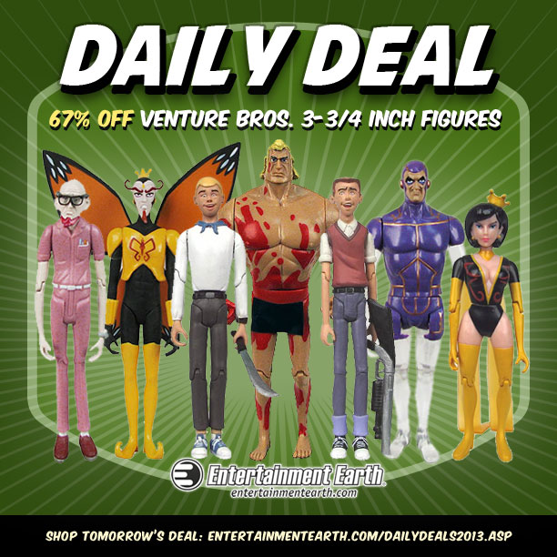 Venture Bros Phantom Limb 3 3//4-Inch Figure