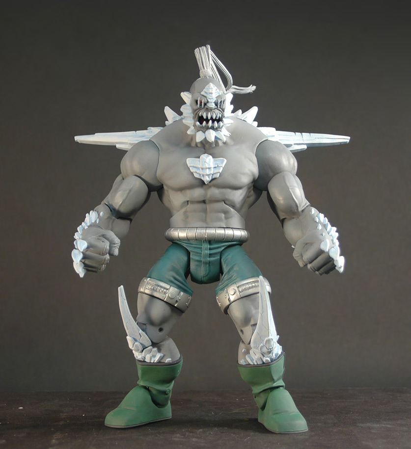 Action Figure Insider More On Mattel S Doomsday Unleashed