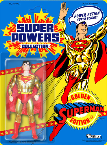 1984-1986 Kenner Superman DC Super Powers Collection Action Figure