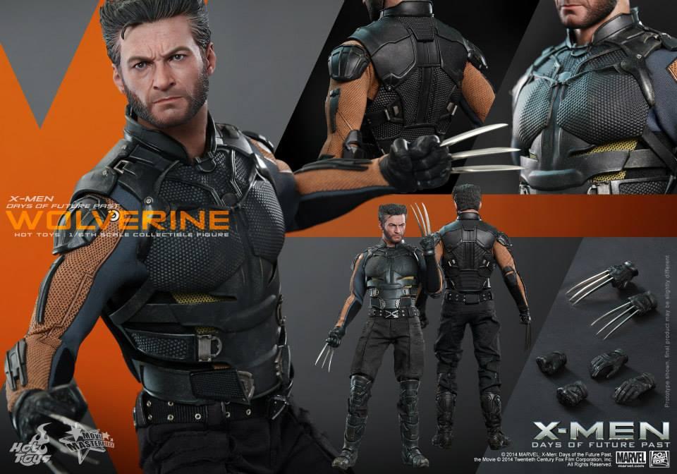X Men Days Of Future Past Action Figures HTDOFPWolv1 jpg