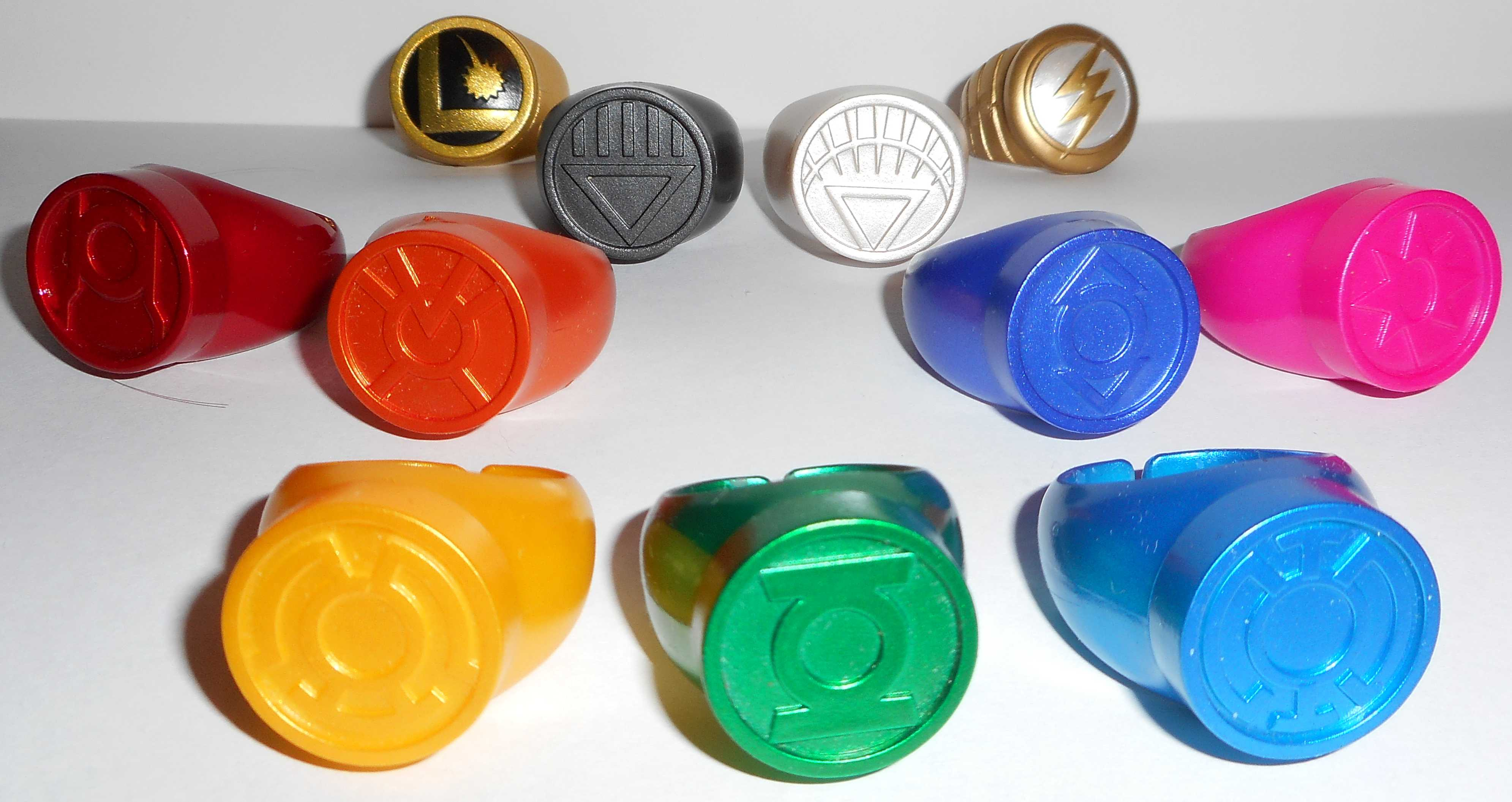Blue Lantern Ring Toy