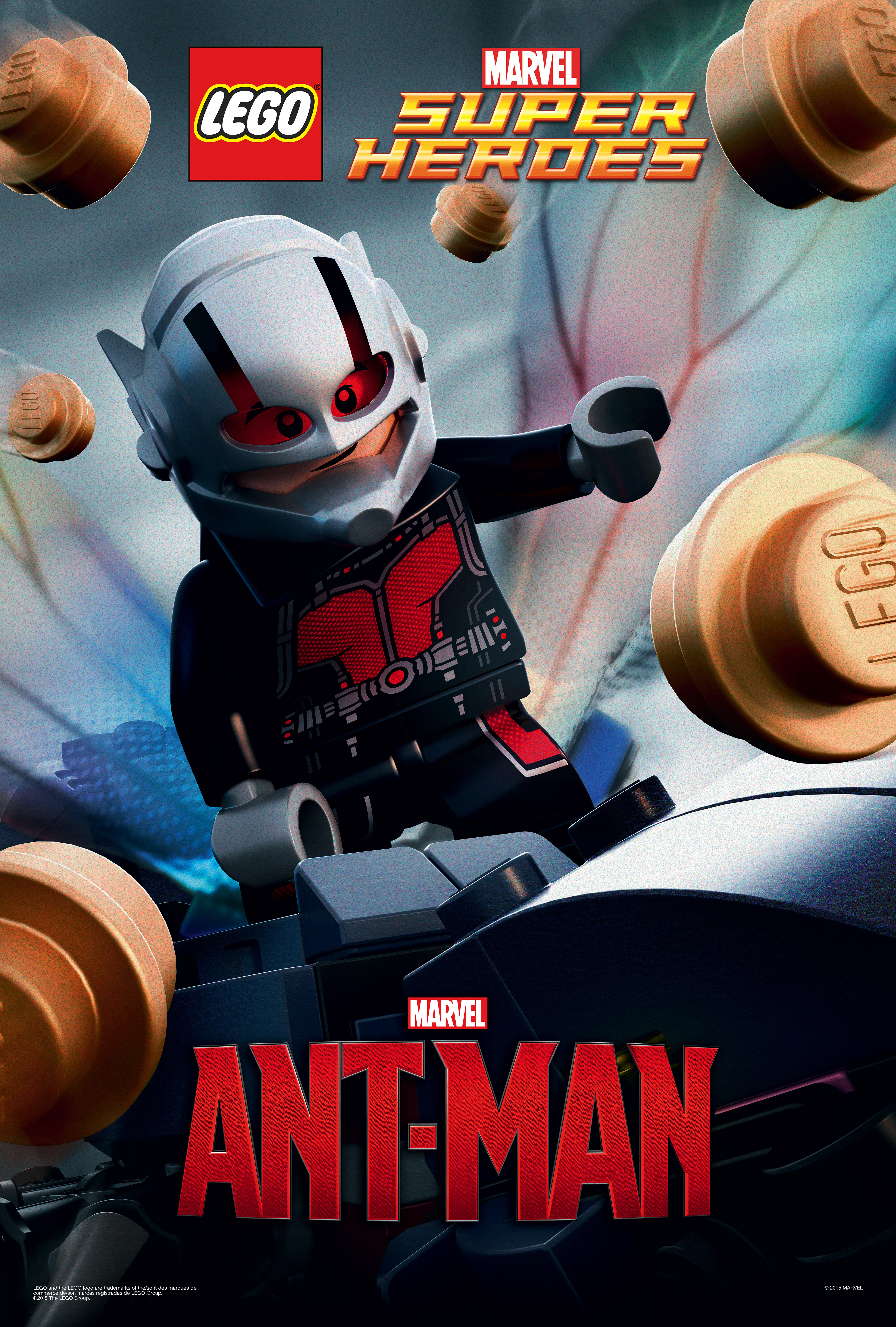 action figure insider 187 antman in lego movie poster