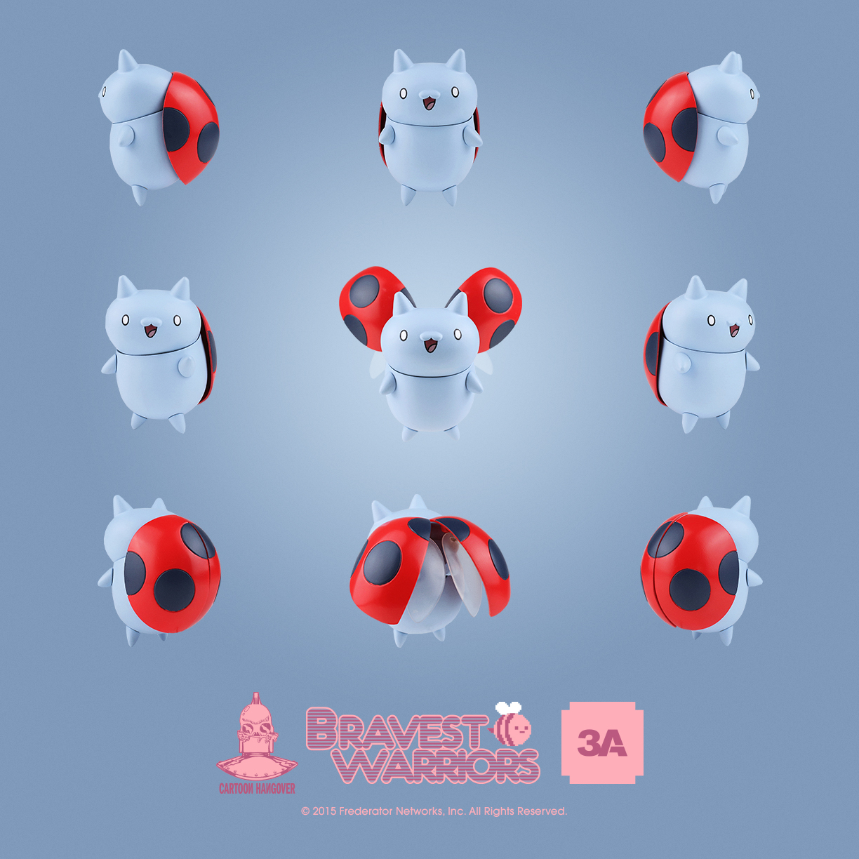 action figure insider worldof3a gets brave and takes on catbug