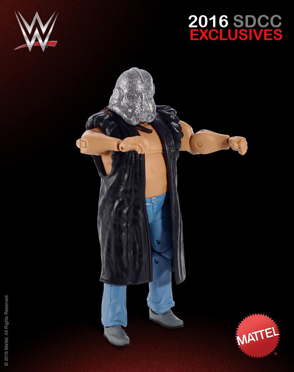SDCC 2016  Shockmaster Figure WCW Elite Figure
