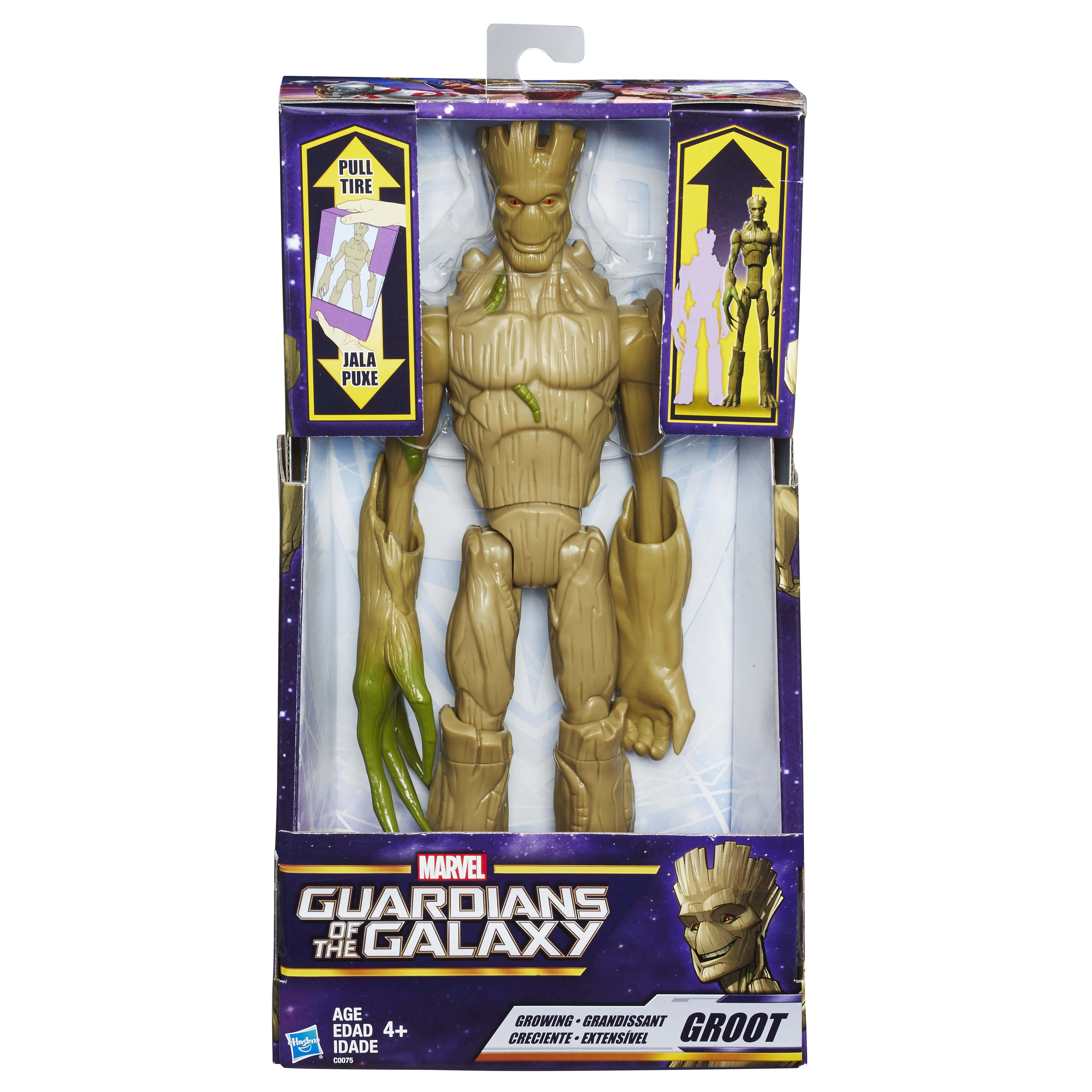 Guardians Of The Galaxy 12 Inch Titan Hero Electronic Music Mix Star Lord Figure