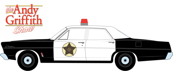 Andy Griffith Show Police Car