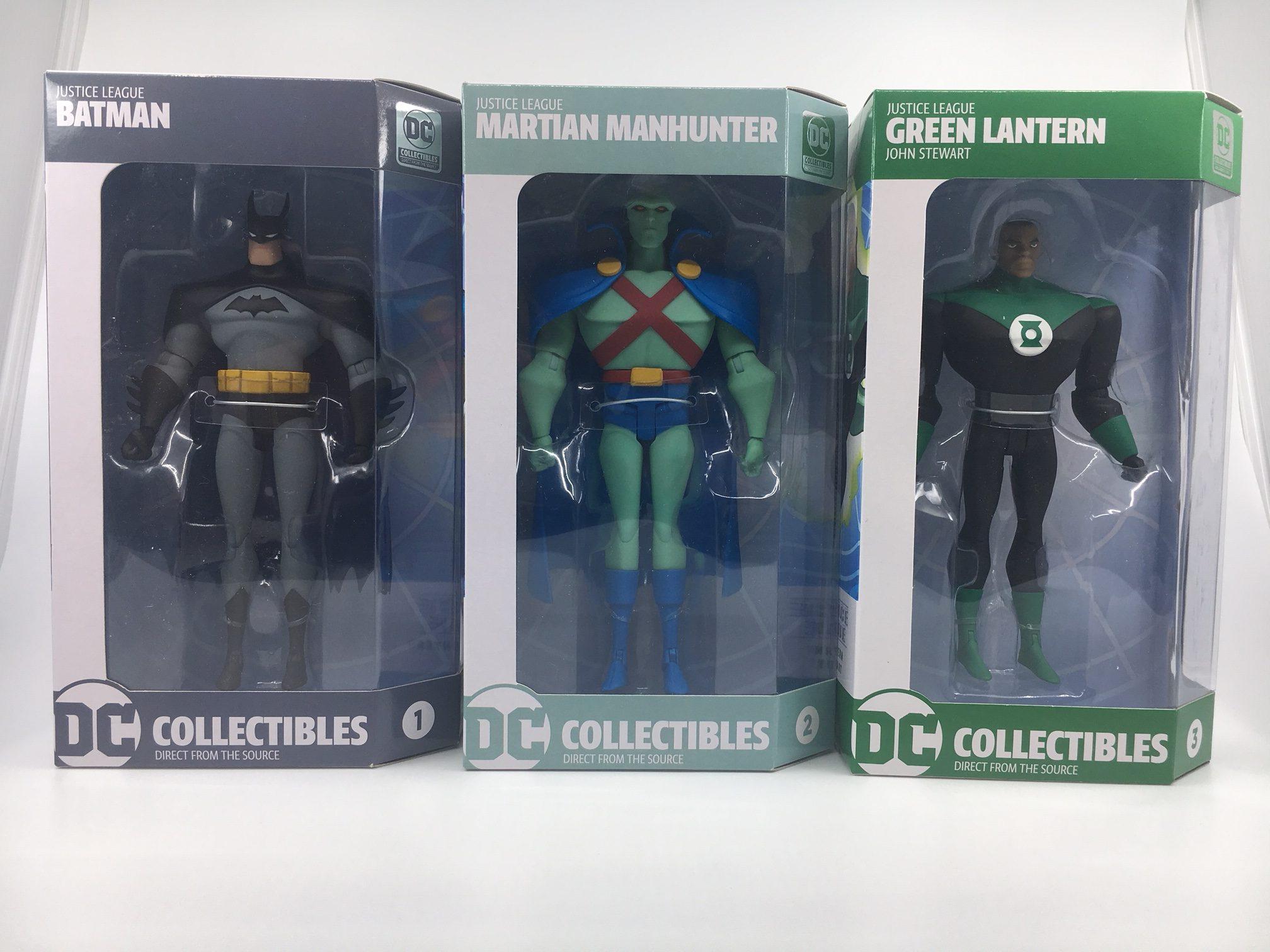 Exclusive Justice League Animated Green Lantern Figure
