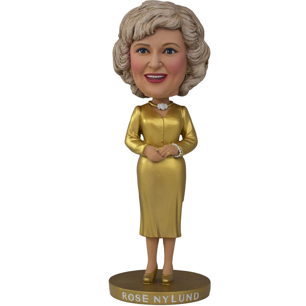 SDCC 2019 Exclusive Rose Nylund Gold Dress Bobblehead