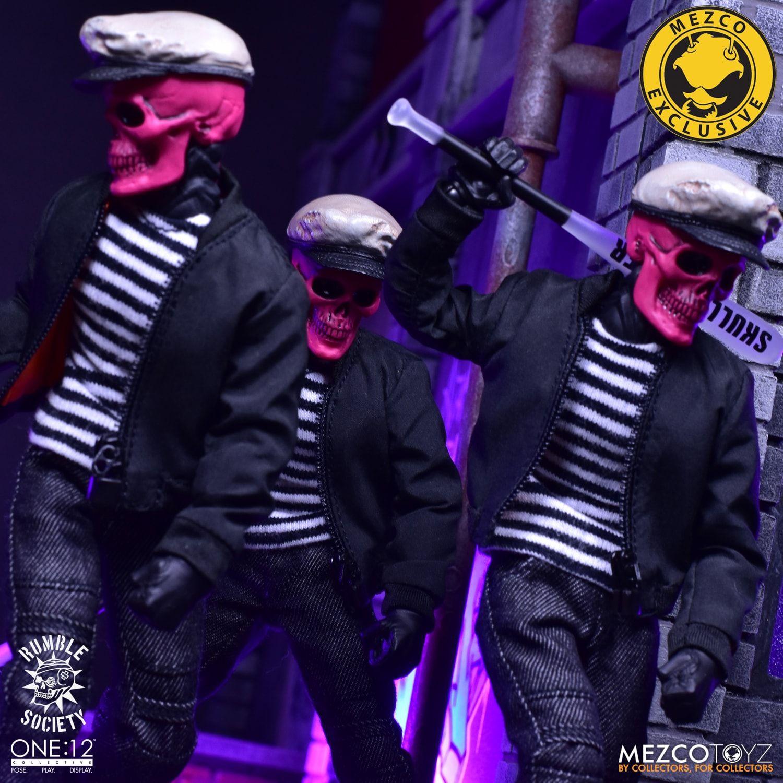 "Rumble Society Pink Golden Red Skulls Chaos Club 6/"" Action Figure Skullcrusher"